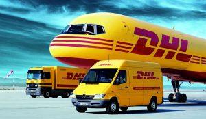 website DHL plane